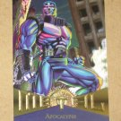 Marvel Metal (Fleer 1995) Card #82- Apocalypse EX-MT