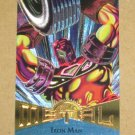 Marvel Metal (Fleer 1995) Card #23- Iron Man EX-MT