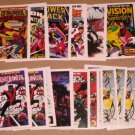 Marvel 1st Covers Series 2 (Comic Images 1991) - Lot of 18 Cards EX