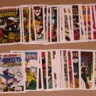Marvel 1st Covers Series 2 (Comic Images 1991) - Lot of 35 Cards G