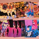 Batman Saga of the Dark Knight (SkyBox 1994) - Lot of 21 Cards EX