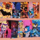 Batman Saga of the Dark Knight (SkyBox 1994) - Lot of 14 Cards EX