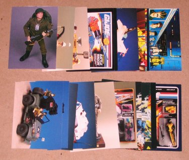 G.I.Joe 30th Salute (Comic Images 1994) - Lot of 24 Cards VG