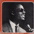 STEVIE WONDER~FOR ONCE IN MY LIFE ~ Sheet Music