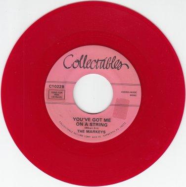 Markeys ~You Got Me On A String*Mint-RED WAX !