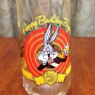 Bugs Bunny 50th Birthday Glass w/Vibrant Colors *