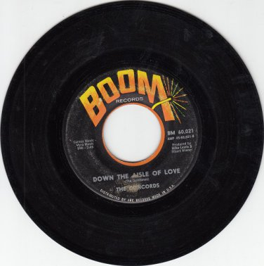 CONCORDS ~Down The Aisle Of Love*VG-45 !