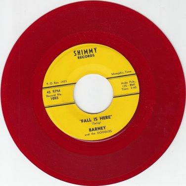 BARNEY & GOOGLES ~RARE RED WAX M-45 *
