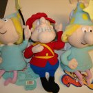 2 FRACTURED FAIRY & DUDLEY DO~RIGHT ~Stuffed Toys *