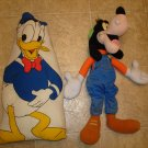 GOOFY & DONALD DUCK STUFFED TOYS *