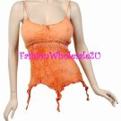 AS Orange Gypsy Tie Dye Tank Top Wholesale (6 Pack)