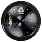 Paiste Black Alpha Slipknot Edition  20inch Metal Ride Cymbal Style Black Wall Clock