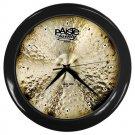 Paiste Twenty Masters Collection 20inch Dark Ride Cymbal Style Black Wall Clock
