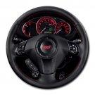 2013 Subaru Impreza WRX STI 4 Door Man WRX STI Steering Wheel Round Mousepad