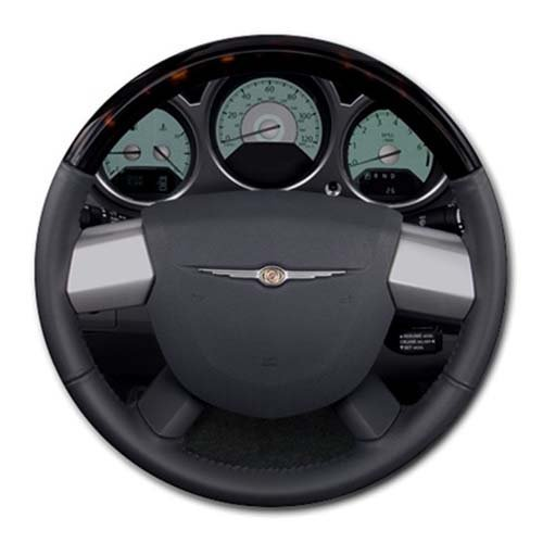 2008 Chrysler Sebring 2 Door Convertible Limited fwd Steering Wheel Round Mousepad