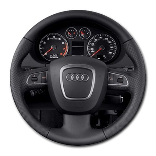 2013 Audi A3 4 Door HB S Tronic Steering Wheel Round Mousepad