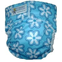 Drybees Blue Retro Pocket Diaper (Large) - RM 60