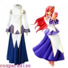 Gundam Seed Destiny Lacus Clyne Cosplay Costume