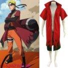 Naruto Uzumaki Naruto Sage Red Cosplay Costume