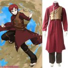 Naruto Shippuden Gaara Red Men's Cosplay Costume