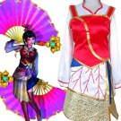 Dynasty Warriors Shin Sangokumusou Da Qiao Cosplay Costume