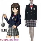 Kill Bill Gogo Yubari Cosplay Costume