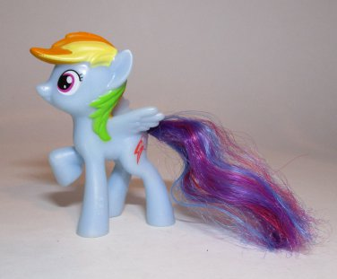 My Little Pony 2014 Rainbow Dash Happy Meal Toy