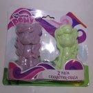 My Little Pony G4 2 Pack Pony Chalk - Purple Green