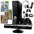 XBOX 360 SLIM 4GB KINECT BUNDLE WITH MADDEN 13 AND MORE