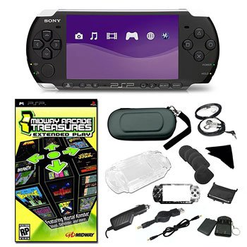 SONY PSP-3000 SUPER HOLIDAY BUNDLE WITH GAMES AND ACCESSORIES