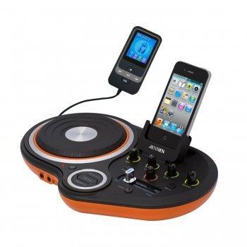 JENSEN DJ SCRATCH MIXER (JDJ-500)
