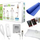 "NINTENDO WII FIT PLUS ""SUPER HOLIDAY"" BUNDLE- BLUE"