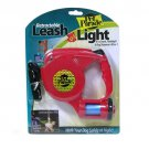 PET PARADE® 14 FT DOG LEASH W/ LED FLASHLIGHT & BAGS
