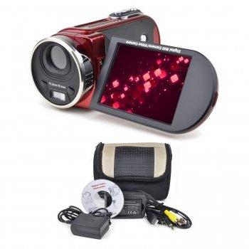 MITSUBA: 16MP DIGITAL CAMCORDER W/8X DIGITAL ZOOM (RED) DX700-RED