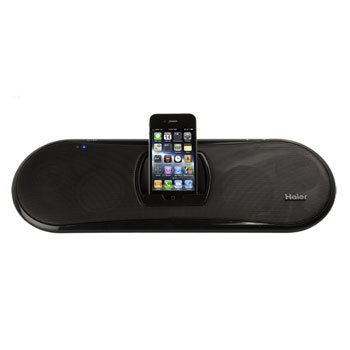 HAIER MOVE PORTABLE IPOD/IPHONE DOCKING STATION (Model: IPDS-20)
