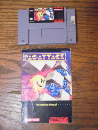 SNES Pac-Attack