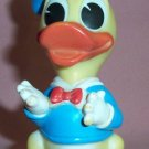 Vintage Disney DONALD DUCK Rubber Figurine, Made in Italy