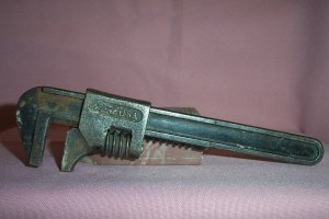 """VINTAGE FORD USA Adjustable 8"""" Spanner Wrench, Very good!"""