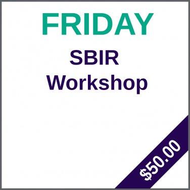 SBIR/STTR Proposal Preparation Workshop