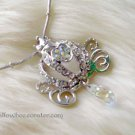 Princess Crown Sparkling Crystal Necklace