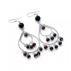 Classic Garnet Earrings
