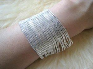 Silver Metallic Bracelet
