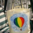 Colorful Hot Air Balloon Tote Bag