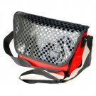 MB-S9003-RED[Glitter Plaid - Red] Multi-Purposes Messenger Bag / Shoulder Bag