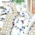 MH01034-2 [Palace Wall] 100% Cotton 4PC Comforter Cover/Duvet Cover Combo (Full Size)