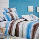 zt01004-3 [Graffiti] 100% Cotton 4PC Comforter Cover/Duvet Cover Combo (Queen Size)
