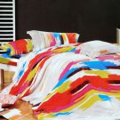 CFRS(MF75-4/CFR01-4) [Graffiti Art] Luxury 5PC Comforter Set Combo 300GSM (King Size)