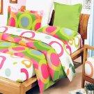 BIAB(DDX20-2/CFR01-2/PLW01x2) [Rhythm of Colors] 10PC MEGA Bed In A Bag Combo 300GSMM (Full Size)