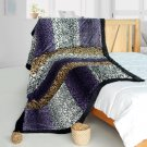 ONITIVA-BLK-100 [Imagination] Patchwork Throw Blanket (61 by 86.6 inches)