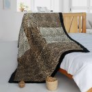 ONITIVA-BLK-101 [Optional Style] Patchwork Throw Blanket (61 by 86.6 inches)